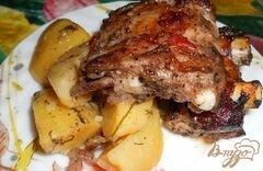 «Картошка с ребрышками в духовке» - приготовления блюда - шаг 4