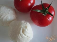 «Томат-Моцарелла (салат)» - приготовления блюда - шаг 1