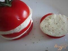 «Томат-Моцарелла (салат)» - приготовления блюда - шаг 3