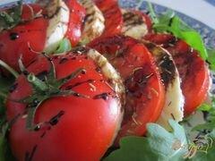 «Томат-Моцарелла (салат)» - приготовления блюда - шаг 5