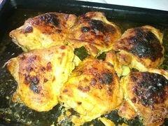 «Курочка запеченная в хреновом маринаде.» - приготовления блюда - шаг 4