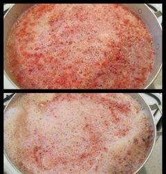 «Киселик из красной смородины» - приготовления блюда - шаг 4