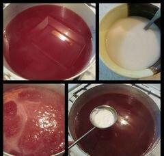 «Киселик из красной смородины» - приготовления блюда - шаг 5