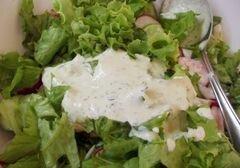 «Салат с огуречным соусом» - приготовления блюда - шаг 11