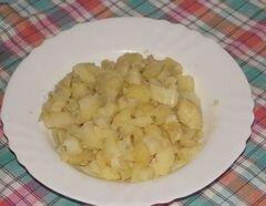 «Салат Леди» - приготовления блюда - шаг 1