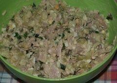 «Салат Леди» - приготовления блюда - шаг 6