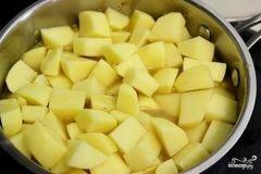 «Картофель тушёный с мясом» - приготовления блюда - шаг 4