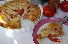 """«""""Пицца"""" из цуккини» - приготовления блюда - шаг 7"""
