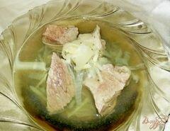 «Говядина с луковым бульоном» - приготовления блюда - шаг 6