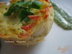 «Картофельные гнезда» - приготовления блюда - шаг 9