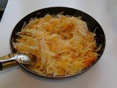 «Тушоная капуста с фасолью» - приготовления блюда - шаг 6