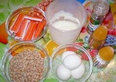 """«Салат """"Минутка""""» - приготовления блюда - шаг 1"""