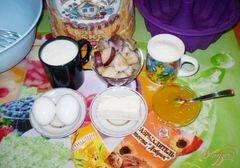 «Медовый кекс с грушами» - приготовления блюда - шаг 1