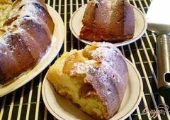 «Медовый кекс с грушами» - приготовления блюда - шаг 6