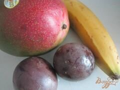 «Десерт с экзотическими фруктами» - приготовления блюда - шаг 1