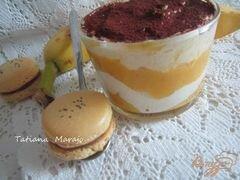 «Десерт с экзотическими фруктами» - приготовления блюда - шаг 8