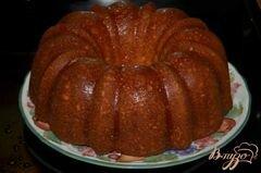 «Кекс с медовой- апельсиновой глазурью» - приготовления блюда - шаг 6