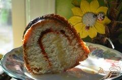 «Кекс с медовой- апельсиновой глазурью» - приготовления блюда - шаг 7