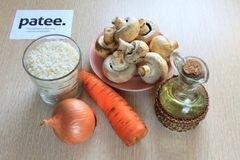«Постный плов в мультиварке» - приготовления блюда - шаг 1