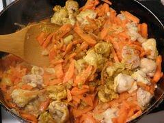 «Узбекский плов с курицей» - приготовления блюда - шаг 6
