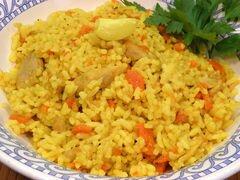 «Узбекский плов с курицей» - приготовления блюда - шаг 9