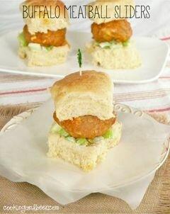 «Сэндвичи с фрикадельками из индейки и салатом из сельдерея» - приготовления блюда - шаг 12