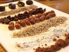 «Шоколадное печенье с фундуком» - приготовления блюда - шаг 1