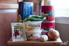 «Лазанья болоньезе» - приготовления блюда - шаг 1