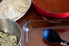 «Лазанья болоньезе» - приготовления блюда - шаг 7