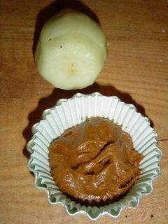 «Маффины с грушей и шоколадом.» - приготовления блюда - шаг 4