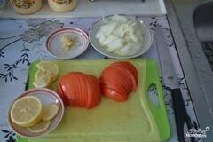 «Скумбрия в фольге» - приготовления блюда - шаг 3