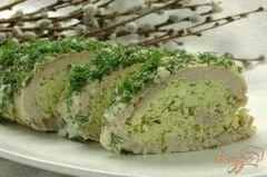 """«Рулет """"Весенняя зелень""""» - приготовления блюда - шаг 12"""