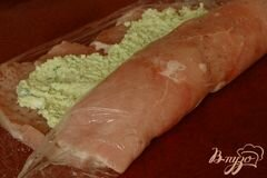 """«Рулет """"Весенняя зелень""""» - приготовления блюда - шаг 7"""