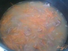 «Гуляш из куриных желудочков» - приготовления блюда - шаг 4