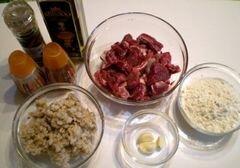 «Котлеты из телятины с перловкой» - приготовления блюда - шаг 1