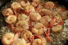 «Спагетти с креветками и овощами» - приготовления блюда - шаг 4