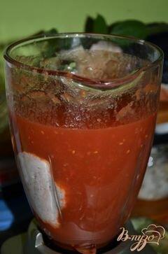«Быстрый томатный суп» - приготовления блюда - шаг 3