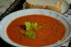 «Быстрый томатный суп» - приготовления блюда - шаг 5