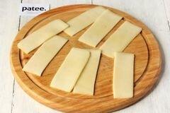 «Рулетики из цуккини с сыром» - приготовления блюда - шаг 5
