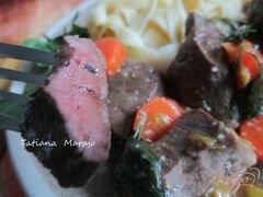 «Говяжье сердце с морковью в яблочном сидре» - приготовления блюда - шаг 11