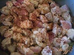 «Свинина с овощами» - приготовления блюда - шаг 2