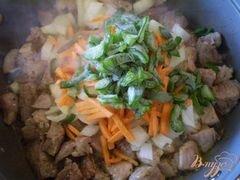 «Свинина с овощами» - приготовления блюда - шаг 3