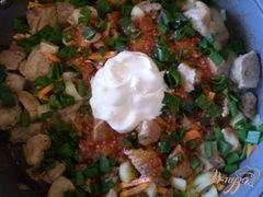 «Свинина с овощами» - приготовления блюда - шаг 4