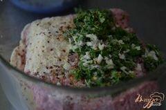 «Фрикадельки с сыром по-итальянски» - приготовления блюда - шаг 2