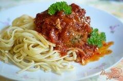 «Фрикадельки с сыром по-итальянски» - приготовления блюда - шаг 5