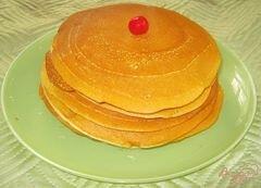 «Американские блинчики (панкейки)» - приготовления блюда - шаг 5