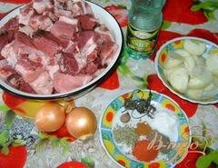 «Шашлык из свинины в пряном маринаде» - приготовления блюда - шаг 1