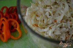 «Слоппи капустный салат с соусом» - приготовления блюда - шаг 2