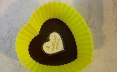 """«Конфеты """"Шоколадное признание в любви""""» - приготовления блюда - шаг 6"""