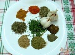 «Адыгейская соль» - приготовления блюда - шаг 2